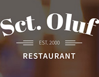 Visual identity and photography for Restaurant Sct.Oluf