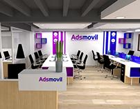 Oficinas Adsmovil (Propuesta de diseño)