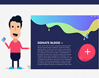 Donate Blood And Save 3 Life's - Design - Illustration
