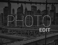 Photo Edit · Post-production