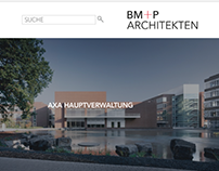 BM+P ARCHITEKTEN WEB DESIGN