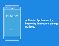 Mobile App for interaction among students