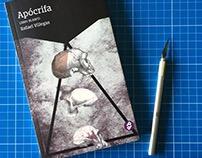 """Book over """"Apócrifa. Libro Blanco"""", by Rafael Villegas."""