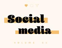 SOCIAL MEDIA - SPREAD DESIGN