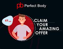Perfect Body Short video - Social Media Ad