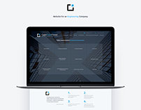 Website for an Engineering Company