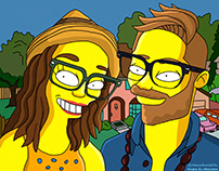 Couple Simpsons