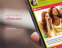 App mobile | O Boticário |