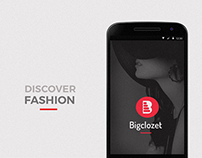 Android app design for Bigclozet