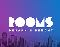 ROOMS branding & logo
