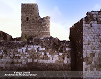Animation of the crusader castle of Giblet