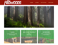 The Redwoods Website Design