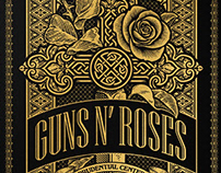 Guns N' Roses Poster Prudential Center 10/12/17