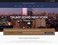 Essential Travels Responsive Website (In progress)