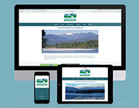 Skeena River House – Logo & Website Design