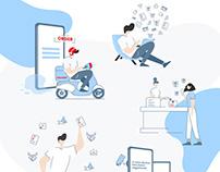 CRM.com Web Design, Web Dev & Illustration