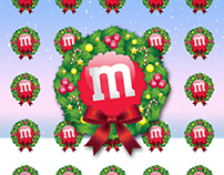M&M's World - Christmas Greeting