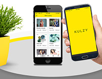 Kulzy Mobile App UI Design