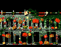 Videomapping Navidad Ronda 2017