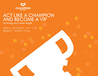 Champion Services Branded Recruitment Posters