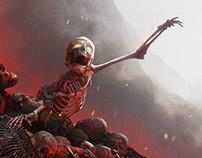 World of Tanks PS4 and Xbox Hellhound Key Art