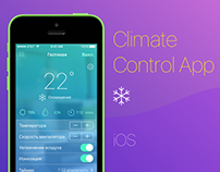 Climate Control App (iOS)