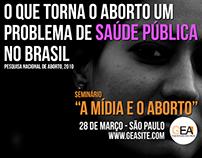 Seminário A Mídia e o Aborto