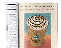 Caribou Coffee Ad (student project)
