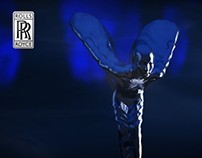 Rolls-Royce Wraith and Spirit Of Ecstasy - 3D Animation