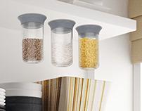 Wholeder suction storage system