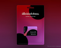 Discount Card Design - Fashion