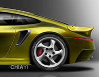 "Porsche 911 R""R"" Classic Package - 993 Turbo Edition."