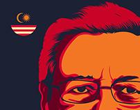 Tun Mahathir Wise Poster