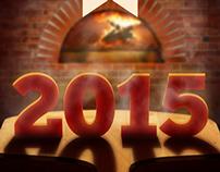 Castelo da Pizza - Ano Novo, 2015