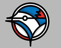 Alternative Prototype Toronto Blue Jays MLB Logo