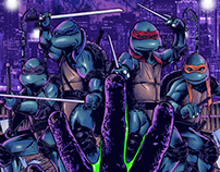 TMNT 2: The Secret of the Ooze Poster