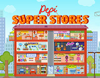 "App for children ""Pepi super stores"""