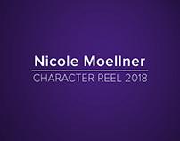 2018 - 3D Character Reel