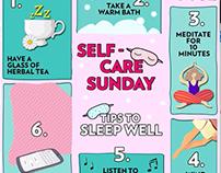 VOGUE INDIA Social Media- Self care Sunday series