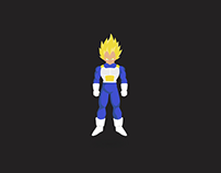 SS Vegeta animation loading loop