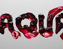 Water Typography CGI