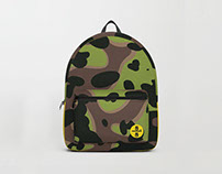 Vintage Camouflage Backpack