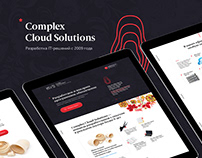 Landing page for IT-solutions