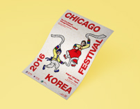 Editorial - Chicago Korean Festival Poster