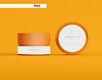 03_Free Cosmetic Jar Mockup
