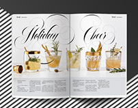 Custom Lettering for Chatelaine Magazine