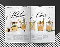Custom Lettering for Chatelaine Magazine