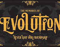 Lost Volution Typefacee
