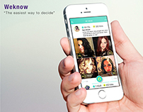 "Weknow app ""helping the world make better decisions"""