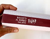 """PACKAGING DESIGN BISCOTTI AL """"BURRO SALATO"""""""